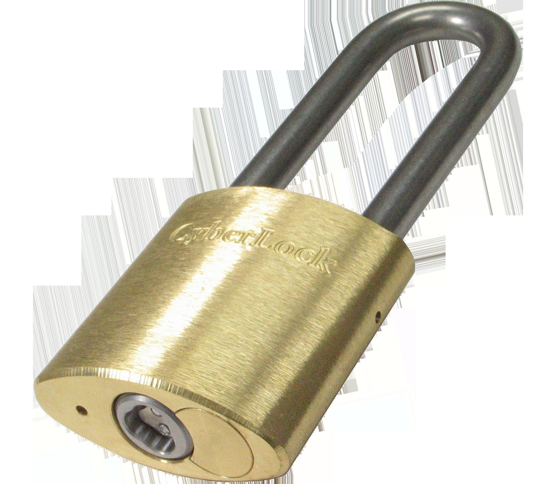 CyberLock Brass Padlock